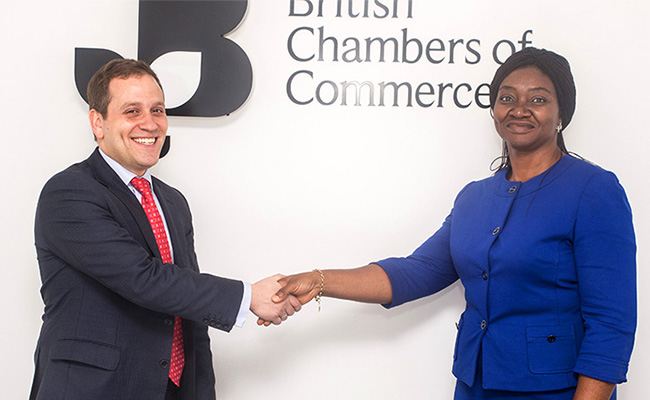The Nigerian-British Chamber of Commerce - Nigerian-British Chamber of Commerce and British Chambers of Commerce Signs Affiliate Agreement