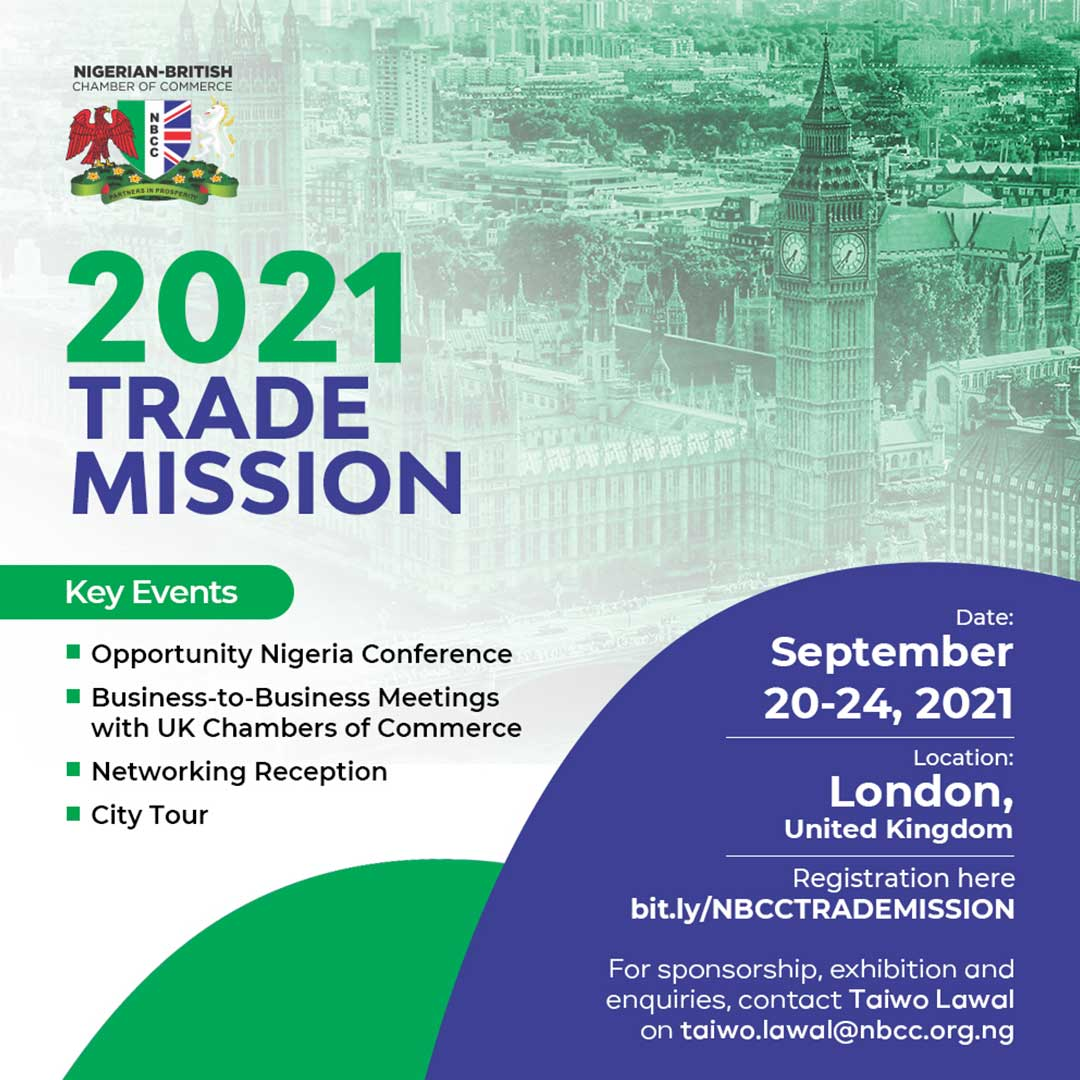 NBCC Upcoming Programmes - Trade Mission 2021