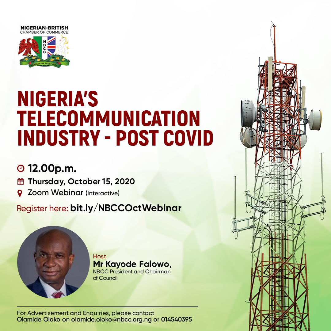 NBCC Upcoming Programmes - Nigeria Telecommunication Industry - Post COVID