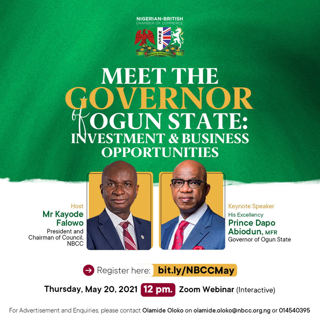 NBCC Upcoming Programmes - Meet The Governor of Ogun State