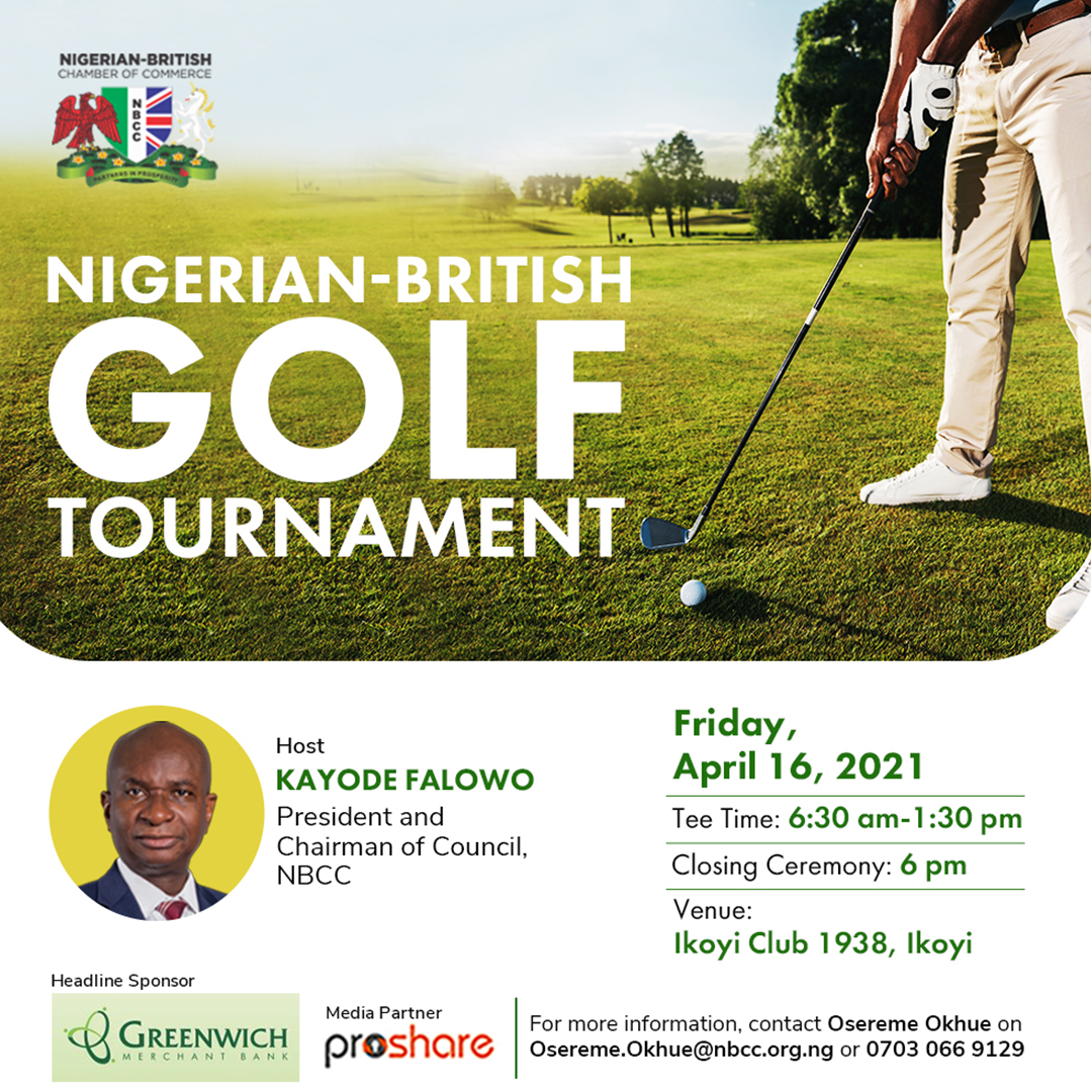 NBCC Upcoming Programmes - NBCC Golf Tournament