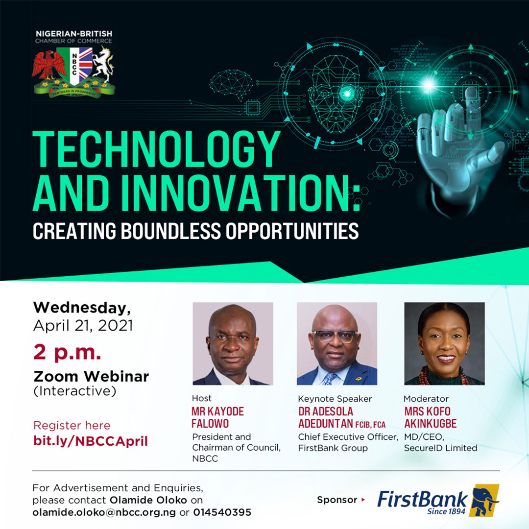 NBCC Upcoming Programmes - Technology and Innovation: Creating Boundless Opportunities